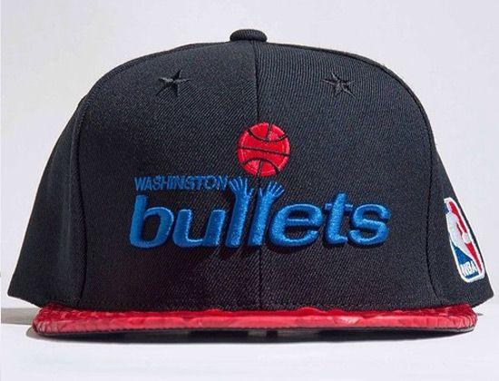 Just Don x Mitchell   Ness Washington Bullets Strapback Cap ... 4d2d6fcd8226