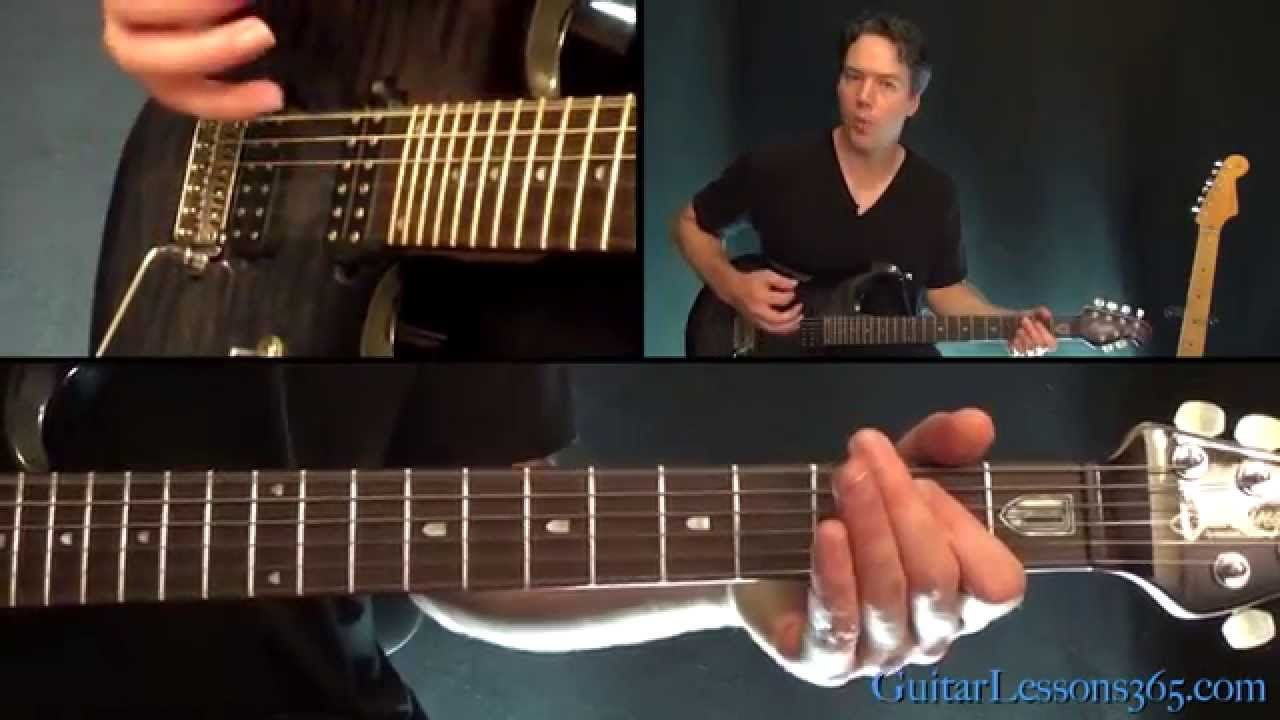 Mr Brownstone Guitar Lesson Guns N Roses Chordsrhythms Rush