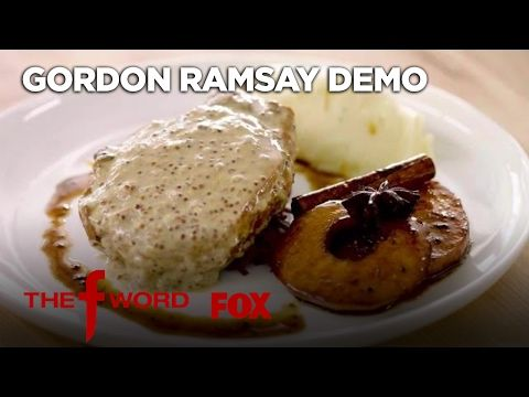 Gordon ramsays pan seared pork chop extended version season gordon ramsays pan seared pork chop extended version season 1 ep 2 ccuart Gallery