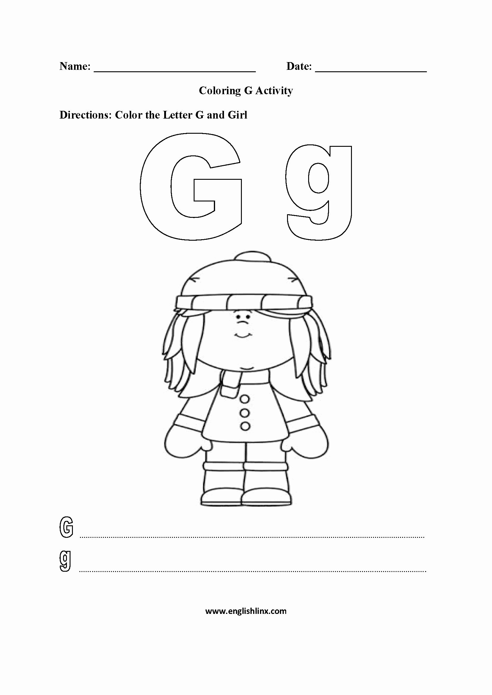 Colouring Alphabet Exercises Pdf  Coloring Pages Gallery in 10
