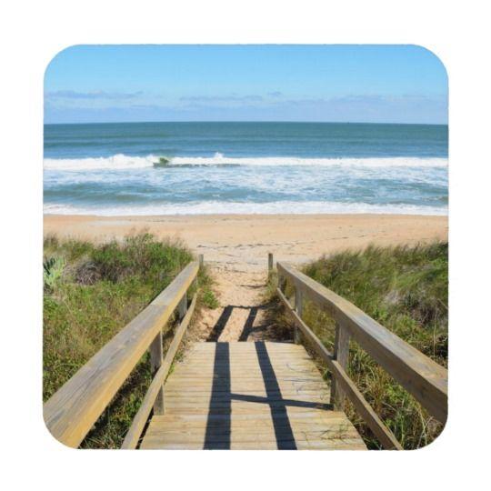 Walkway to the beach coaster