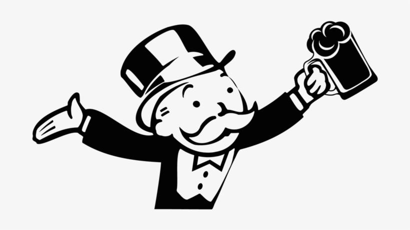 Monopoly Man Transparent Png Monopoly Man Graffiti Style Art Man Clipart