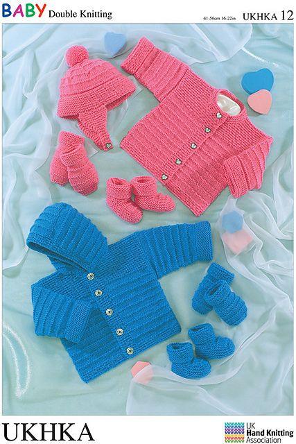 Baby Blanket DK Knitting Pattern 56x66cm