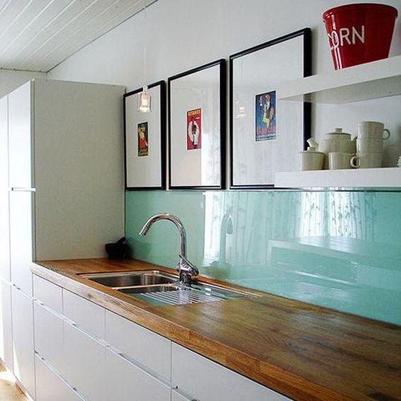 Crisarte arq pinterest cocinas depto y estantes de for Revestimiento de cocina con porcelanato