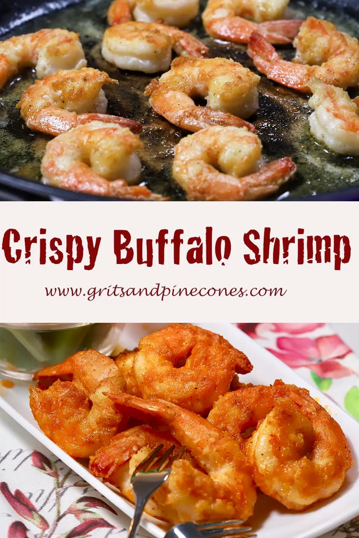 Crispy Buffalo Shrimp