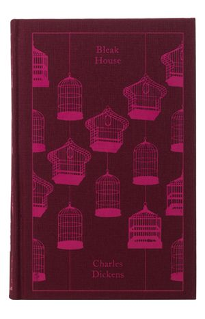 Cloth Bound Series Four Illustration Coralie Bickford Smith Despotica Bleak House Book Cover Design Penguin Books Covers Book Design