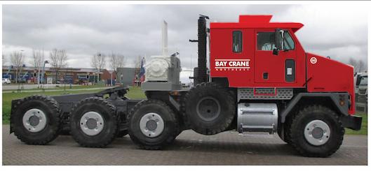 OSHKOSH TRUCKS DOWNUNDER    Truck Tractor - Bay Crane
