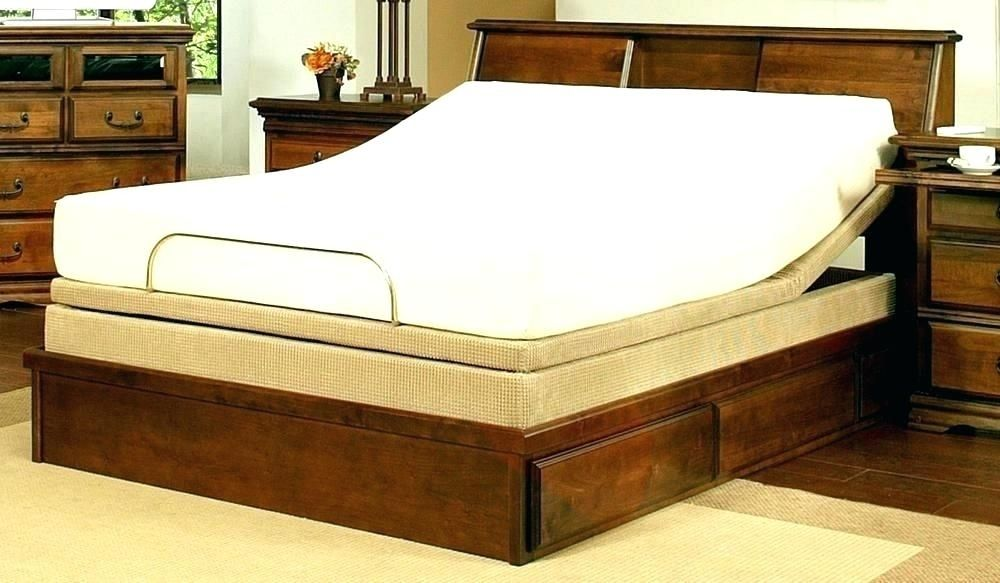 Pedestal Bed Frame Home Decorating Ideas Decorating Ideas