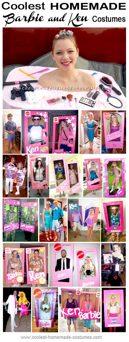 Coolest Ken and Barbie Halloween Costume Ideas - Homemade Costume - barbie halloween costume ideas
