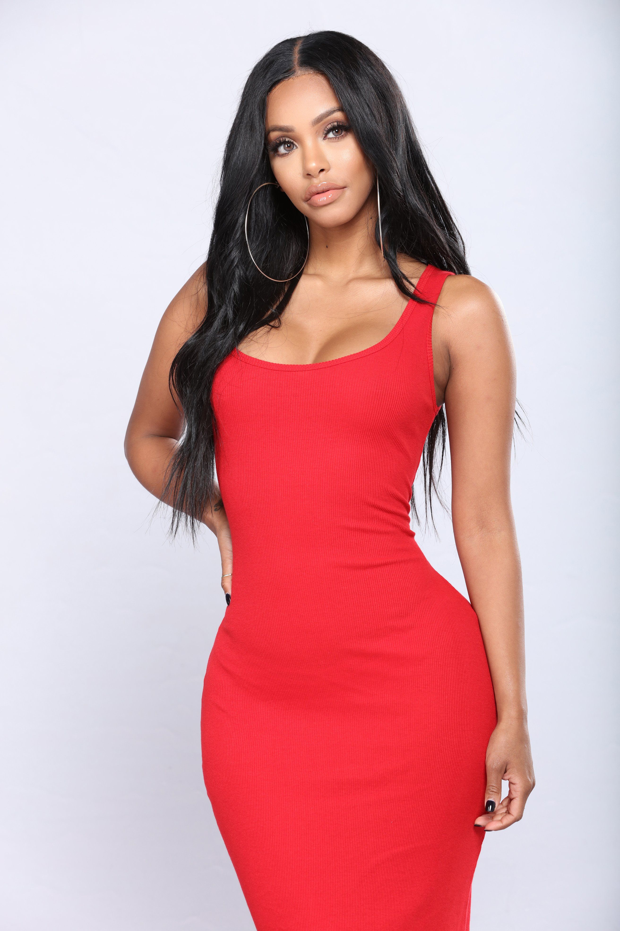 Mulberry Street Maxi Dress Red Mini dress casual, Red