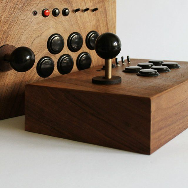 R-Kaid-42 wooden arcade system by Love Hulten