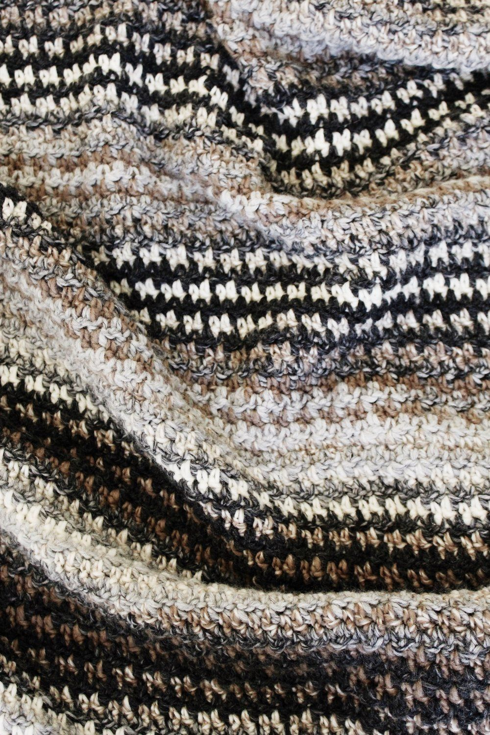 Houndstooth Cabin Throw Pattern — Two of Wands | Crochet ...