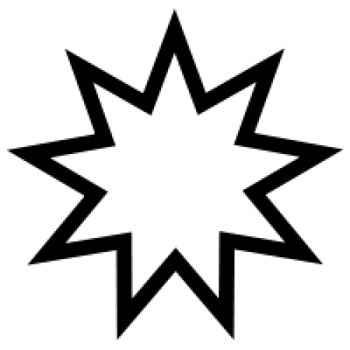 Nine Pointed Star Bahai Symbol Of Perfection And Unity Symbology