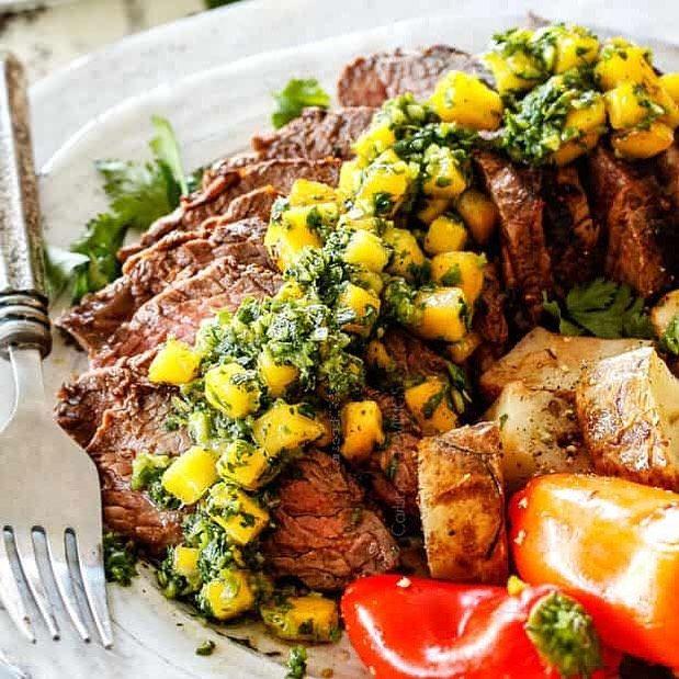 CHIMICHURRI'S STEAK IN THE BRAZILIAN MANGO is an explosion of savory, rich, savory CHIMICHURRI'S STEAK IN THE BRAZILIAN MANGO is an explosion of savory, rich, savory, ... -