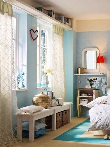 Schlafzimmer neu einrichten Indoor, Shabby and Bedrooms - Schreibtisch Im Schlafzimmer