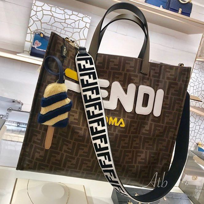 ebb751cbfa Fendi · Milan · Tote Bag · Told you this bag can have a strap added to it  how great does it look