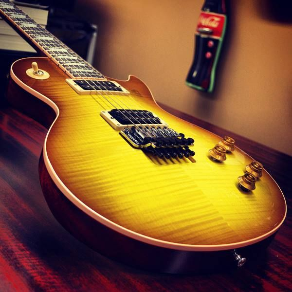 #Refreshing! #Gibson Les Paul #Axcess in Iced #Tea. #guitar #lespaul