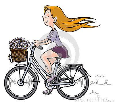 desenho menina andando de bicicleta pesquisa google projetos