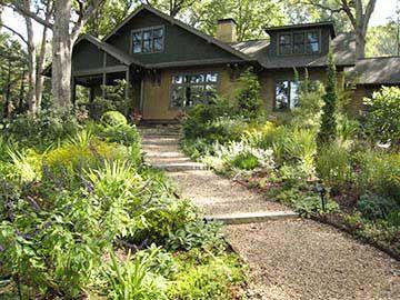 Arts Crafts Gardens Asheville Nc Garden Design Front Garden Landscape Architect