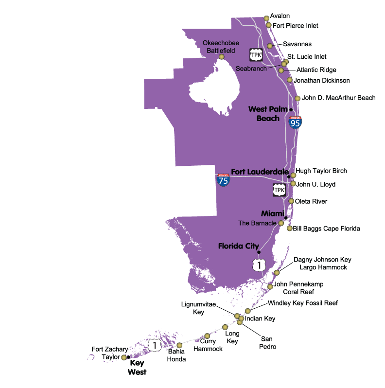 Map Of South East Florida.Proud To Be From Southeast Florida Not The Bible Belt Side Of