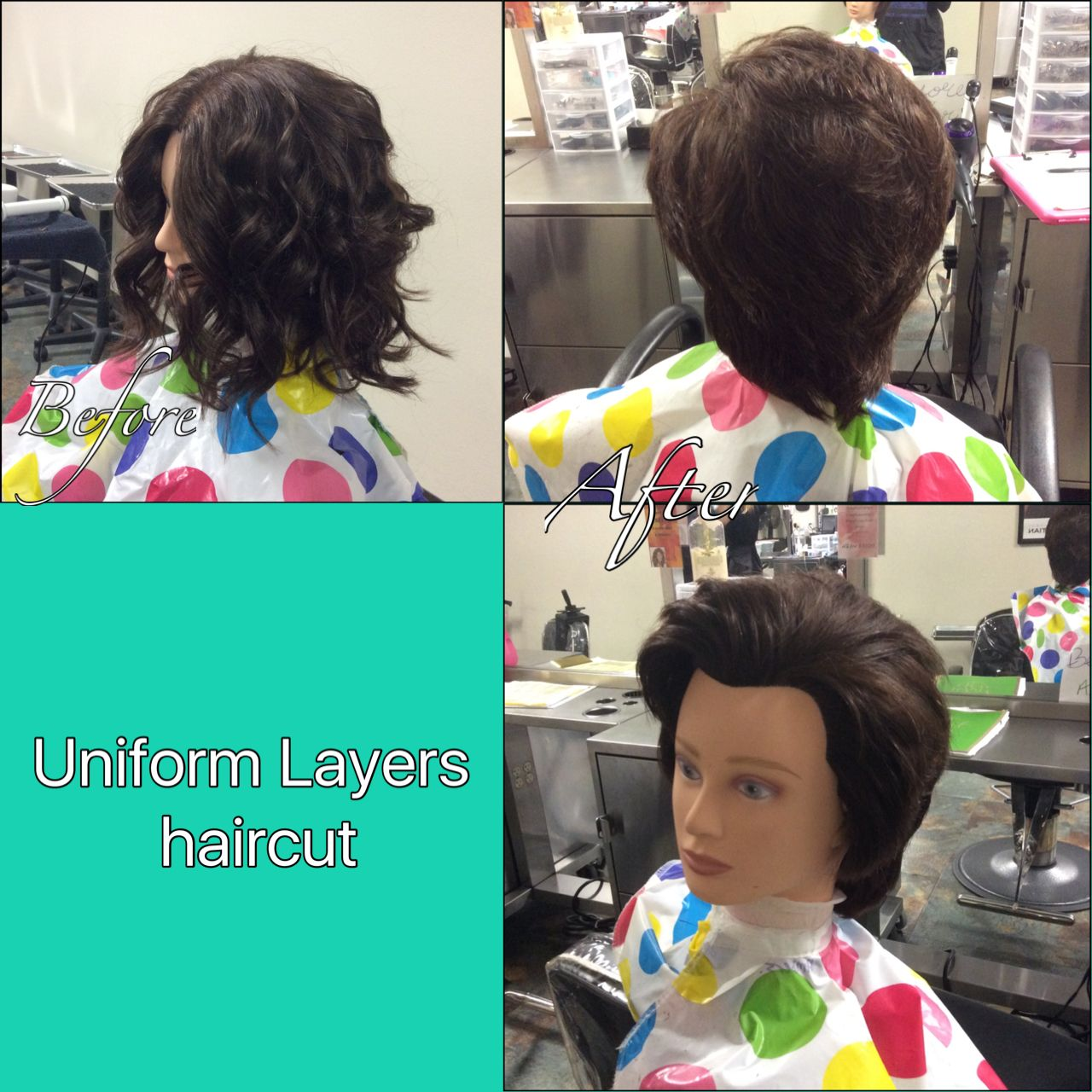 Ive Done A Uniform Layered Haircut Using Sebastian Shaper Plus And