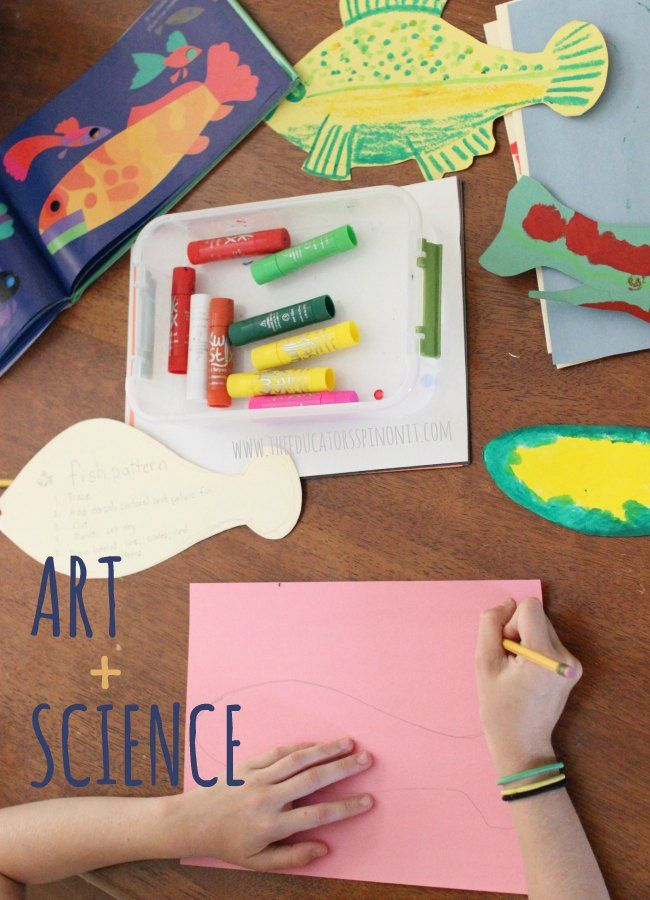 Open Ended Fish Art and Science Project for Creative Kids ...