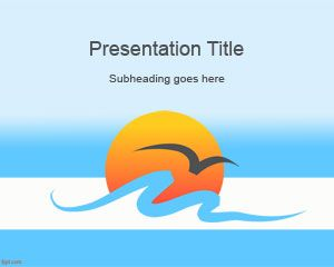 Sea Powerpoint Theme Is A Free Sea Powerpoint Template And