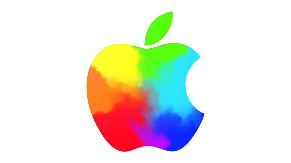 Colorful Apple Logos