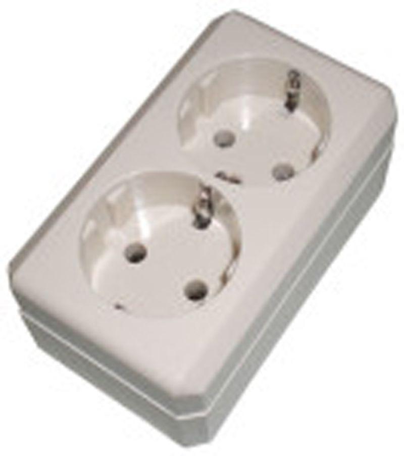 """STOP KONTAK 2 LBG ARDE """"BROCO"""" Stop kontak merupakan komponen listrik yang berfungsi sebagai muara hubungan antara sumber listrik dan alat listrik.Untuk menghubungkan keduanya diperlukan sebuah kabel dan steker atau colokan yang nantinya dihubungkan atau ditancapkan pada stop kontak."""