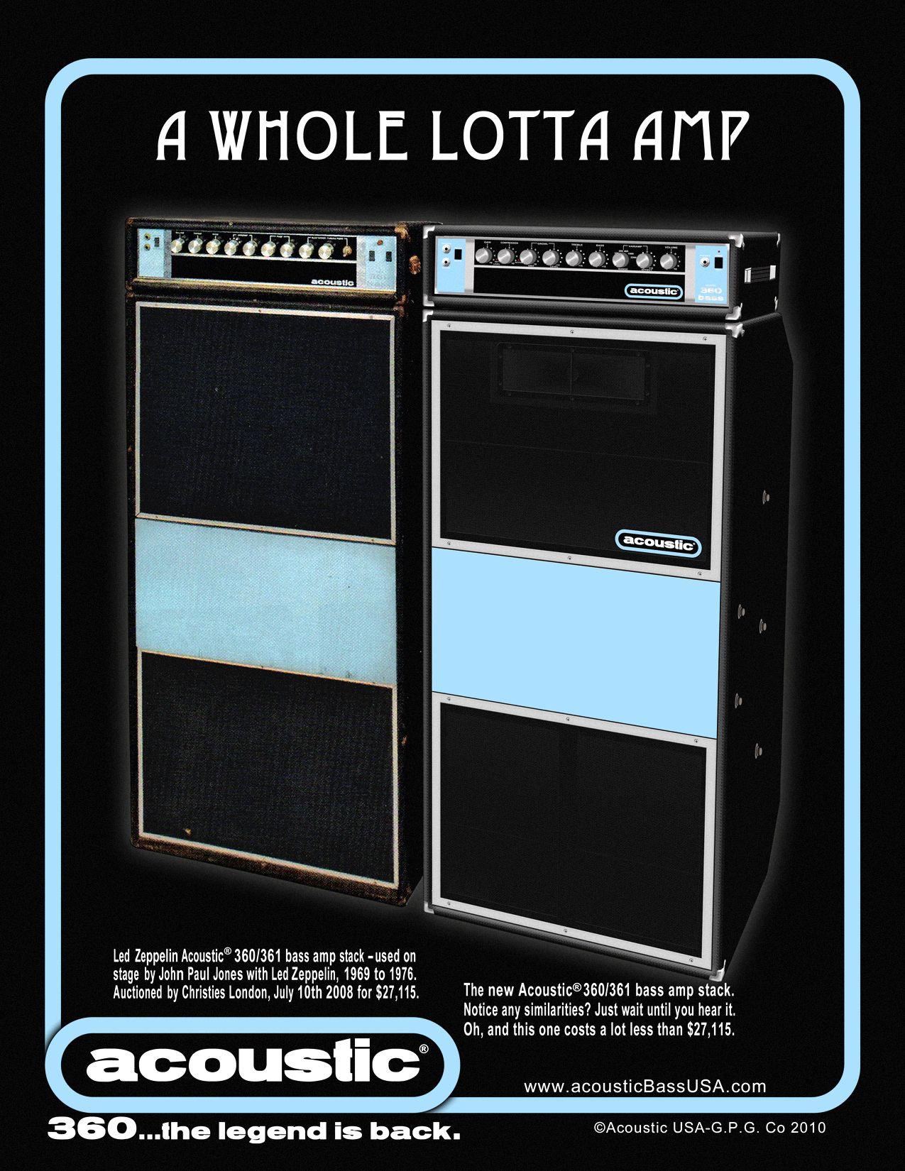 Acoustic 360 361 Bass Amps Guitars Pinterest Guitar Amp Repair Schematics Fender Bassman Ab165 Schematic Cool Bluegrass Music Vintage