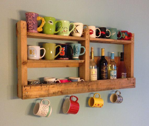 20 Muebles con rejas de madera para cocina