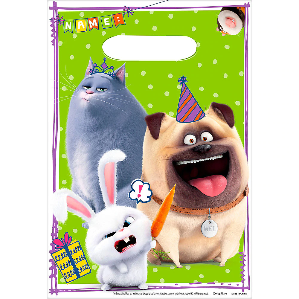 The Secret Life Of Pets Party Supplies Birthday Decorations Party City Animal Party Secret Life Of Pets Kids Party Supplies