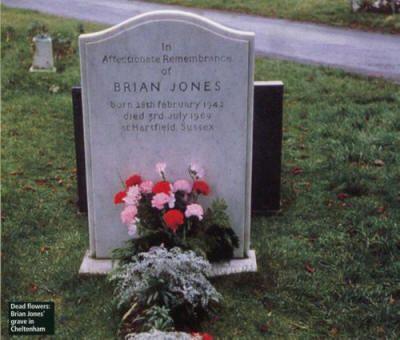 Bildergebnis für fotos vom grab des brian jones