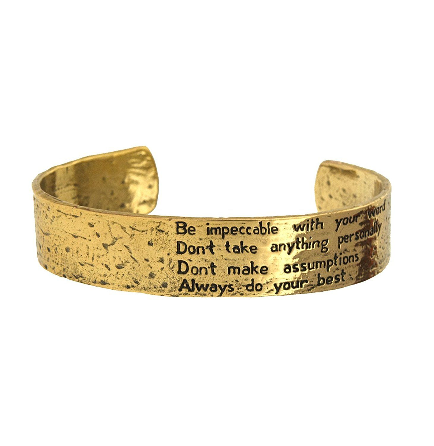 The Four Agreements Reminder Cuff Read More Reviews Of The