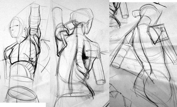 "Anatomy Studies Demo: ""Figure Studies"""