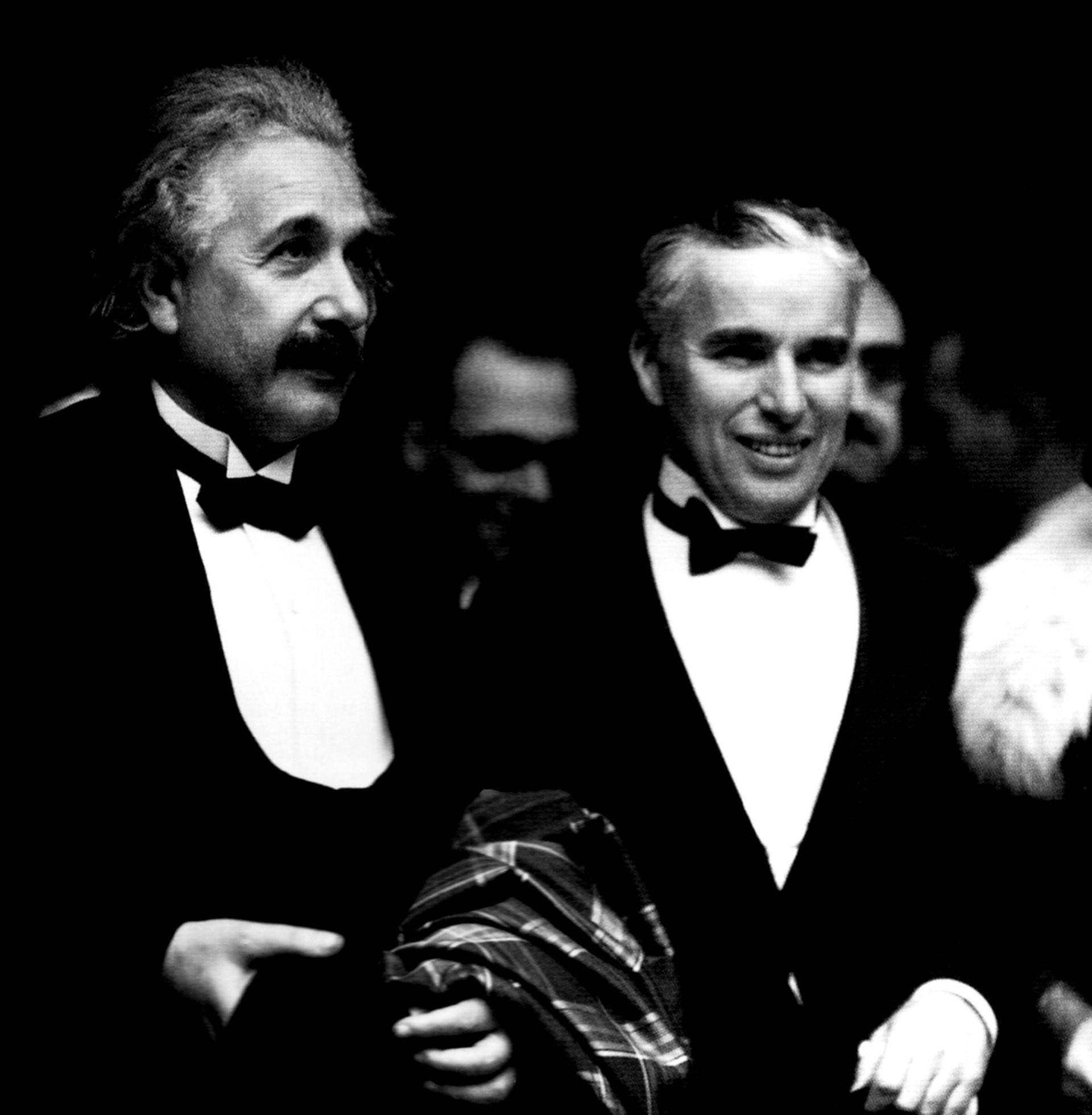 Einstein chaplin