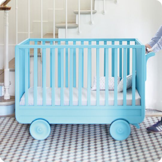 Laurette meubles vintage et design pour chambre d 39 enfants lil munchkins chariot b b - Laurette meubles ...