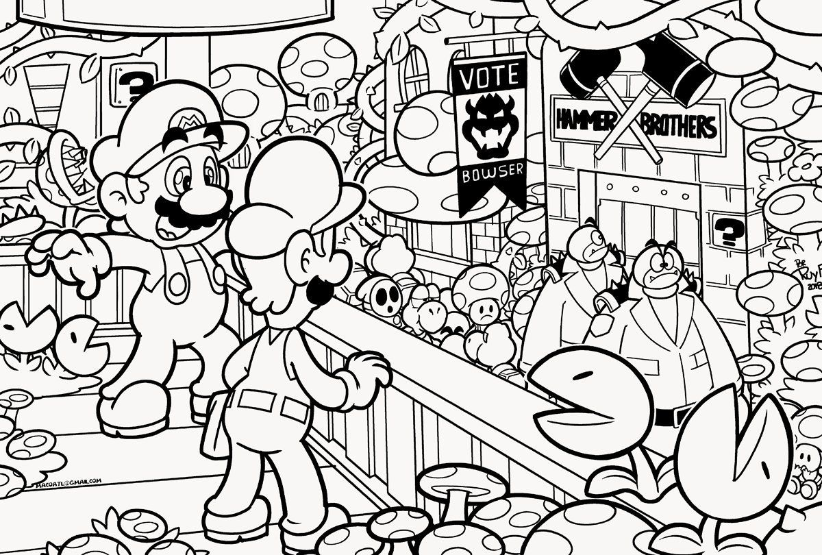 Mario Bros Coloring Book Mario Bros Coloring Book Mario Bros Coloring Book Pdf Super Mario Br Super Mario Coloring Pages Mario Coloring Pages Coloring Pages