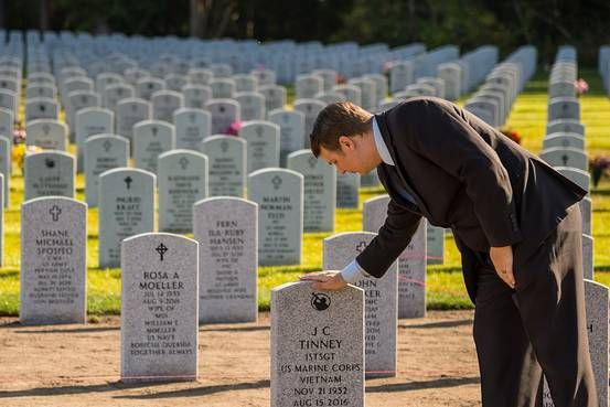 James Lindley, a former Marine, helps lay indigent servicemen to rest with military honors, calming his own wartime demons