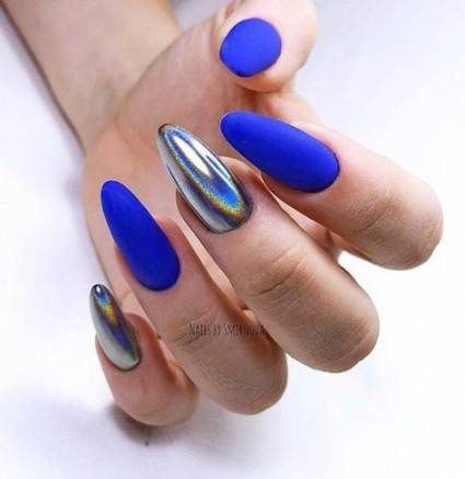 Nails design spring french shops 47 ideas