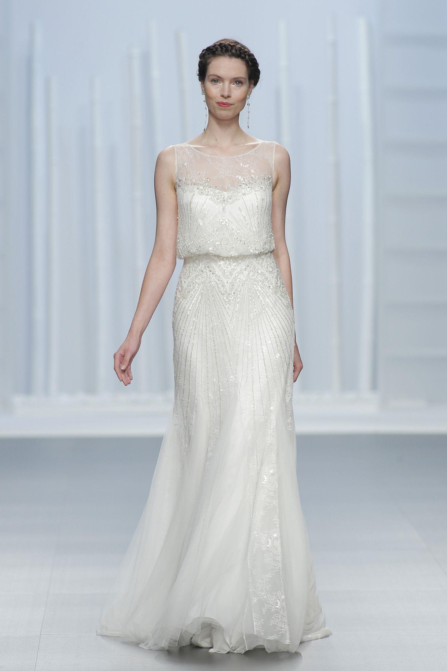 Los 10 vestidos de novia que desearás lucir en 2016 | Vestidos de ...