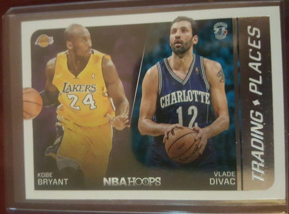 201415 Panini NBA Hoops Kobe Bryant Vlade Divac Los