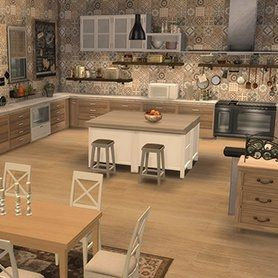 Cuisine Rustique Chic Avec Images Cuisine Rustique Cuisine