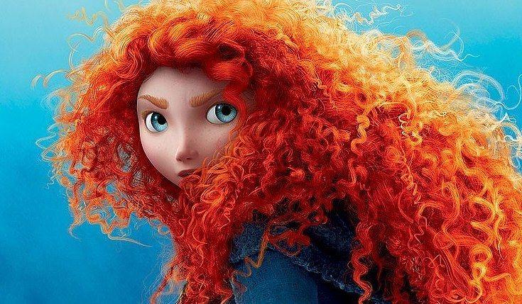 14 Fictional Women Who Prove Having Curly Hair Is Totally Badass Disney Brave Merida Hair Merida Brave