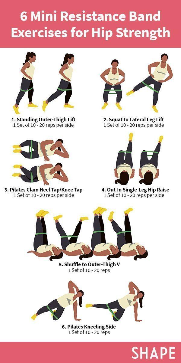 6 Hip-Strengthening Mini Band Exercises