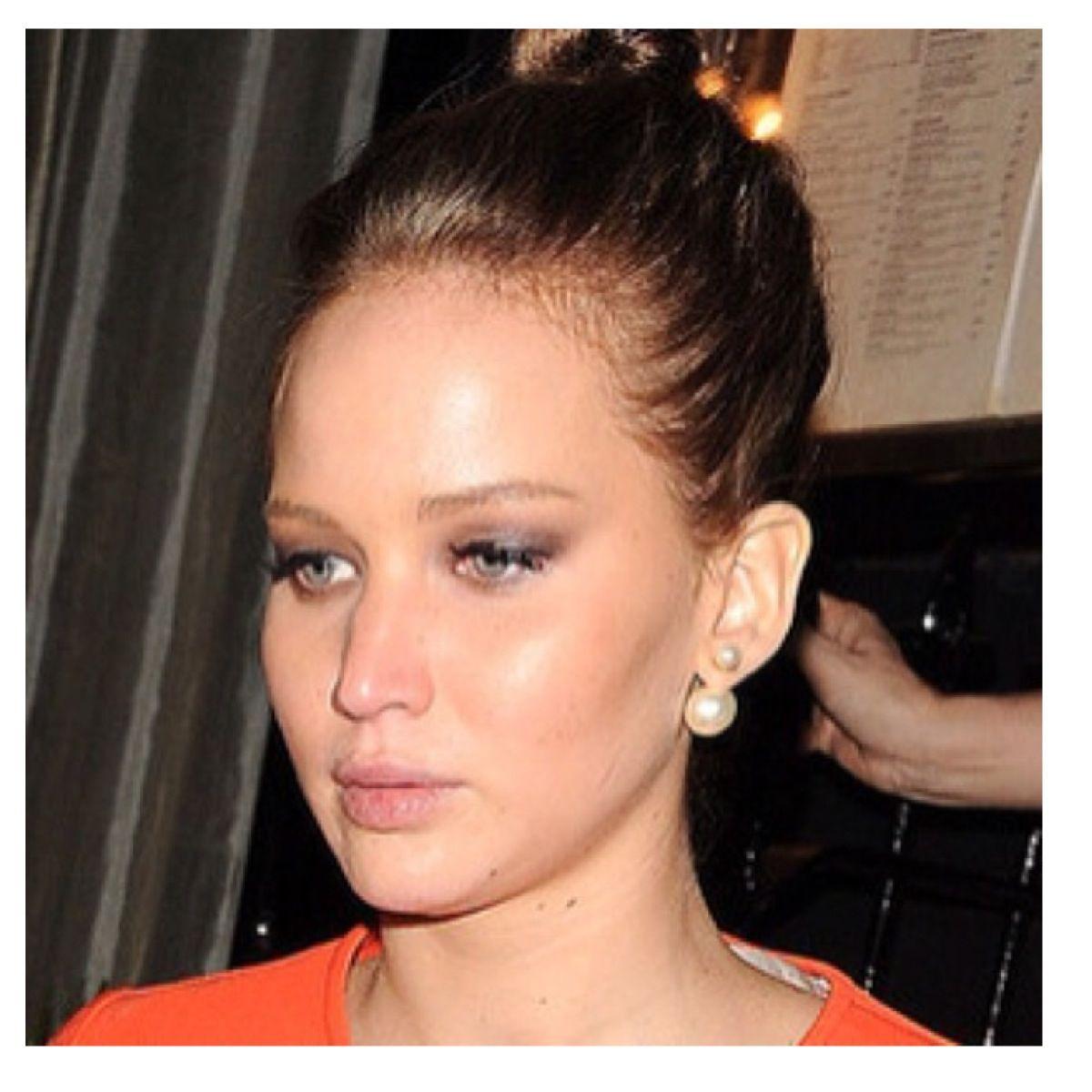 Jennifer Lawrence Inspired Pearl Christian Dior Earrings