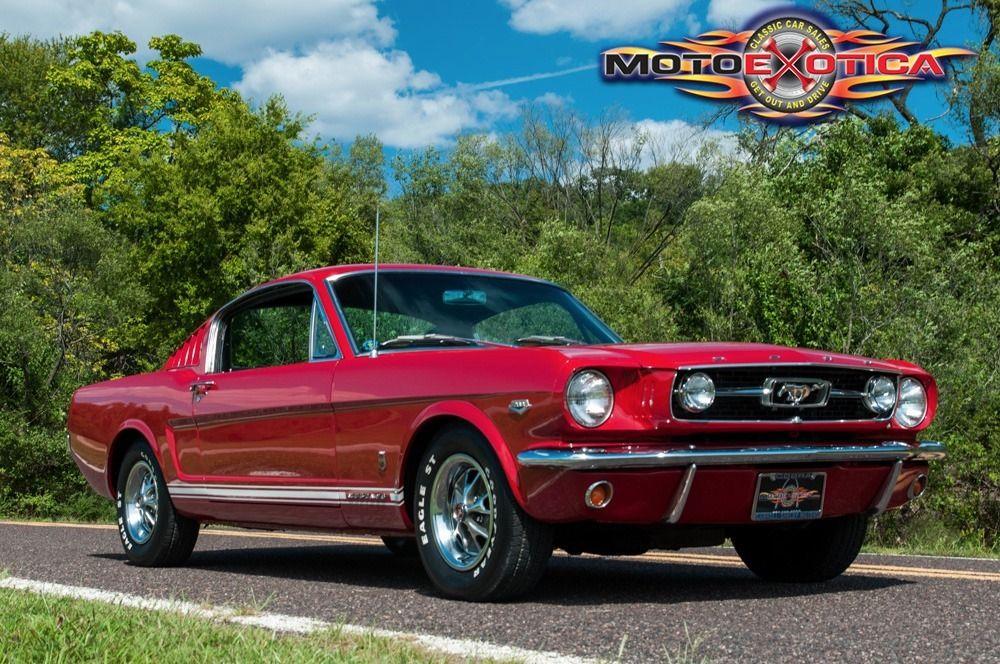 1966 Ford Mustang Fastback Ford Mustang Fastback 1966 Ford