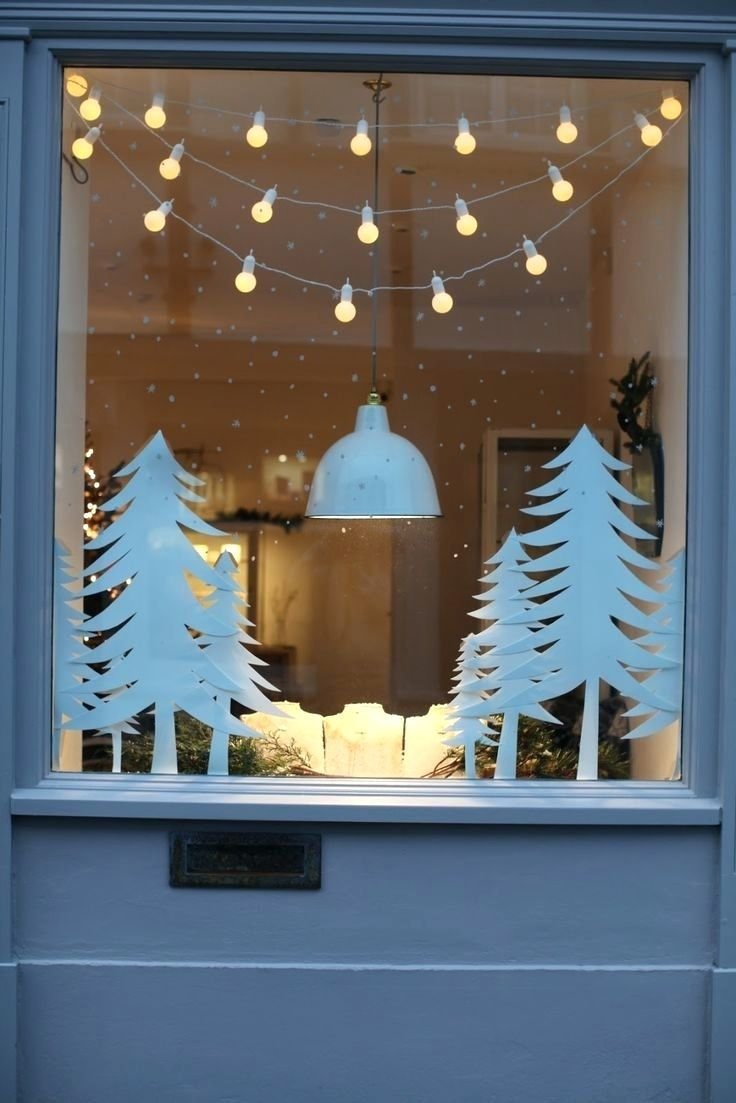 Fensterdeko hängend oder stehend: Tolle Ideen für Weihnachten #fensterdekoweihnachten