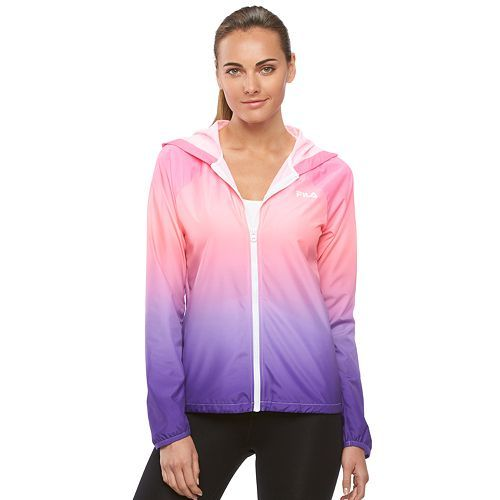 b83d2b5ab075 Women's FILA SPORT¨ Ombre Hooded Jacket   Fashionated   Hooded ...