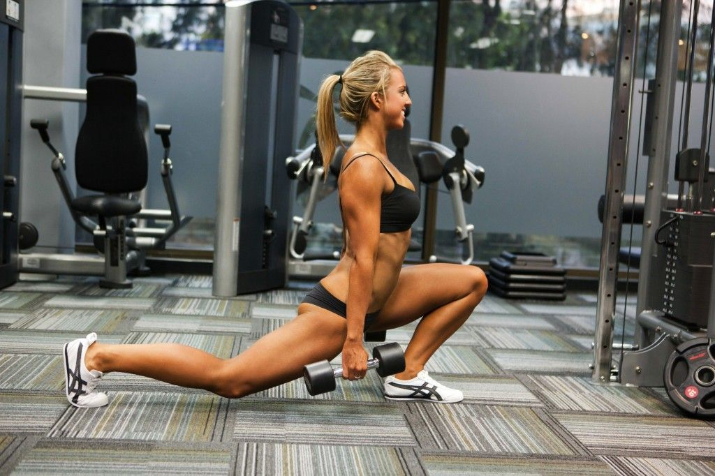lunges sure pay off!